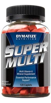 Super Multi Vitamin 120 каплетов Dymatize Nutrition