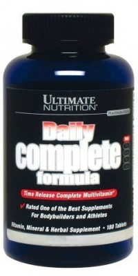Daily Complete Formula 180 таблеток Ultimate Nutrition