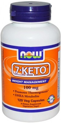 7-Keto 100 мг 120 капсул Now