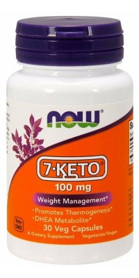 7-Keto 100 мг 30 капсул Now