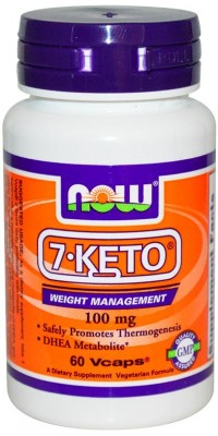 7-Keto 100 мг 60 капсул Now