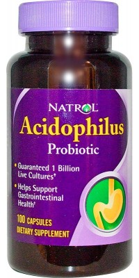 Acidophilus 100 мг 100 капсул Natrol