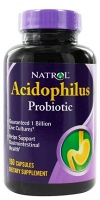Acidophilus 100 мг 150 капсул Natrol