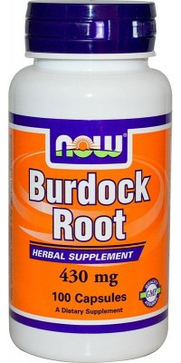 Burdock Root 430 мг 100 капсул Now