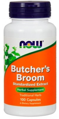 Butcher's Broom Extract 100 мг 100 капсул Now