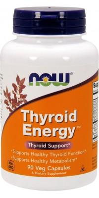 Thyroid Energy 90 капсул Now