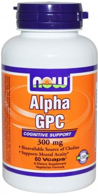 Alpha Gpc 300 мг 60 капсул Now