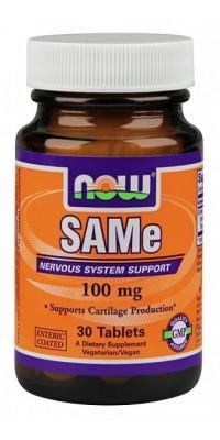 SAMe 100 мг 30 таблеток Now