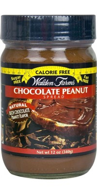 Chocolate Peanut Spread Арахисовая паста с шоколадом Walden Farms