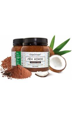 Паста лён и кокос (шоколад, стевия) - купить за 180