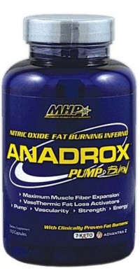 Anadrox Pump & Burn 112 капсул MHP