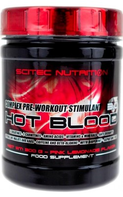 Hot Blood 3.0 300 г Scitec Nutrition - купить за 710