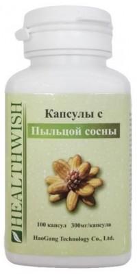Капсулы с пыльцой сосны 300 мг 100 капсул Haogang