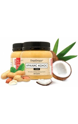 Протеин арахисовая паста кокос (стевия) - купить за 250
