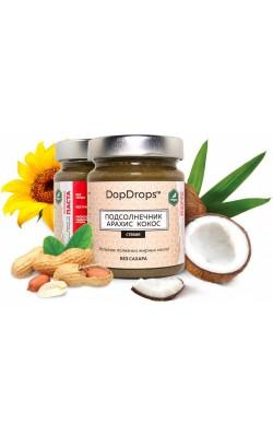 Паста протеиновая подсолнечник, арахис и кокос - купить за 260