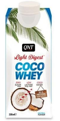 Coco Whey Light Digest 330 мл QNT