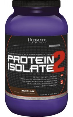 Protein Isolate 2 812 г Ultimate Nutrition - купить за 1700