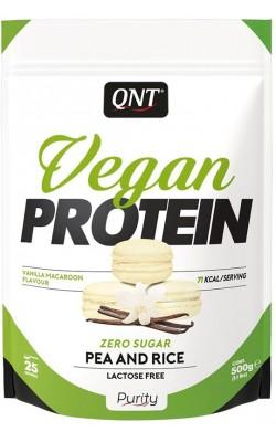 Vegan Protein 500 г QNT - купить за 1320