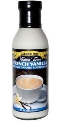 French Vanilla Coffee Creamer Сироп Французская ваниль Walden Farms