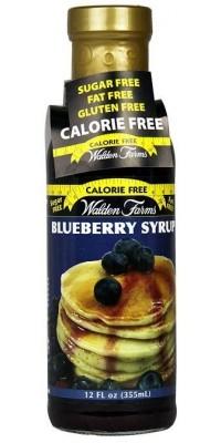 Blueberry Syrup Черничный сироп Walden Farms