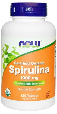 Spirulina 1000 мг 120 таблеток Now