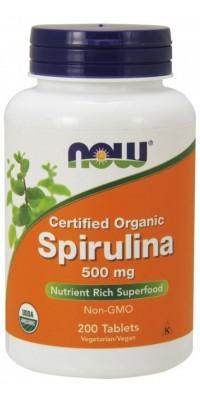 Spirulina 500 мг 200 таблеток Now