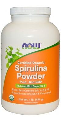 Spirulina Powder 454 г Now