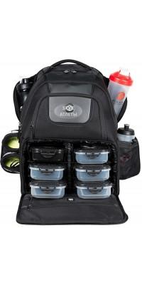 Elite Voyager Backpack Black/Red (чёрный/красный) Six Pack Fitness