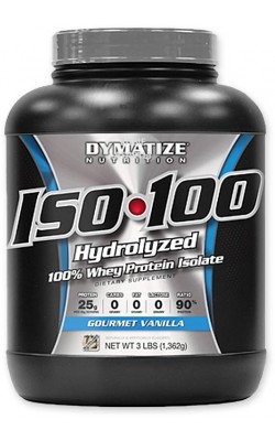 Iso-100 1,36 кг Dymatize Nutrition - купить за 3910