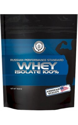 Whey Isolate 100% 500 г RPS Nutrition - купить за 780