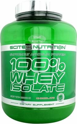 Whey Isolate 2 кг Scitec Nutrition - купить за 3220