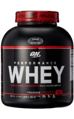 Performance Whey 1,95 кг Optimum Nutrition - купить за 2830