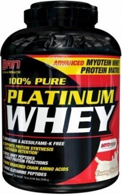 Platinum Whey 100% Pure 897 г SAN - купить за 1830