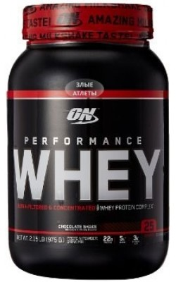 Performance Whey 975 г Optimum Nutrition - купить за 1570
