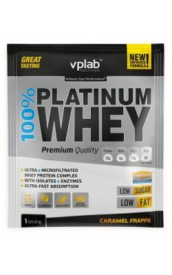 100% Platinum Whey 30 г VPLab - купить за 110