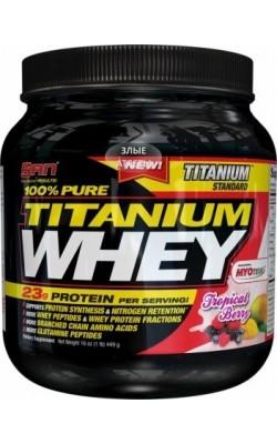 Titanium Whey 100% Pure 450 г SAN - купить за 1280
