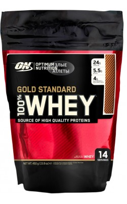 100% Whey Gold Standard 450 г Optimum Nutrition - купить за 990