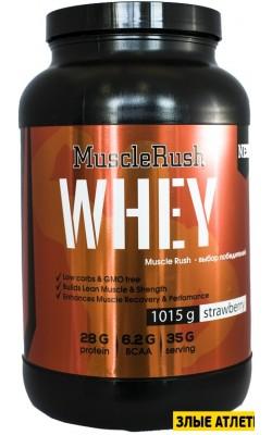 Whey 1015 гр Muscle Rush - купить за 1330