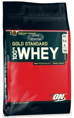 100% Whey Gold Standard 4,54 кг Optimum Nutrition - купить за 6990