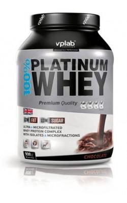 100% Platinum Whey 908 г VPLab - купить за 1820