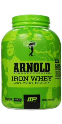 Arnold Series Iron Whey 2,27 кг MusclePharm
