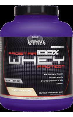 Prostar Whey Protein 2,39 кг Ultimate Nutrition - купить за 2950
