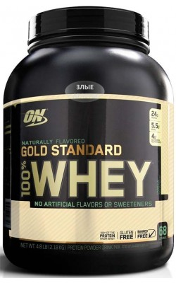 100% Whey Gold Standard Natural 2,18 кг Optimum Nutrition - купить за 3690