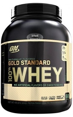 100% Whey Gold Standard Natural 864 г Optimum Nutrition - купить за 1870