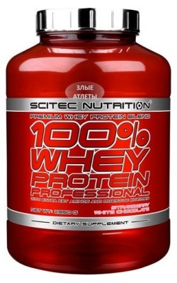 Whey Protein Professional 2,35 кг Scitec Nutrition - купить за 5100