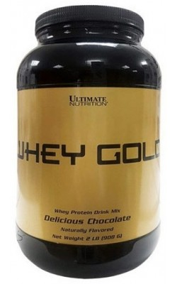 Whey Gold 908 г Ultimate Nutrition - купить за 1400