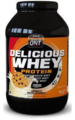 Delicious Whey Protein 2,2 кг QNT - купить за 3720