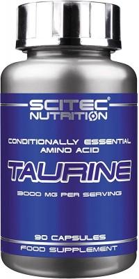 Таурин Taurine 90 капсул Scitec Nutrition
