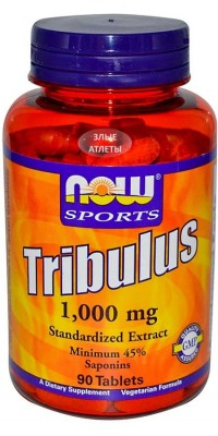 Tribulus 1000 мг 90 таблеток Now