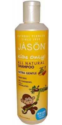 Kids Only All Natural Extra Gentle Shampoo 517 мл Jason Natural